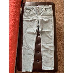 LOFT coral blue colored pants